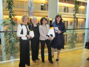 MEPs Harkin, Morin-Chartier, Angelilli and Steinruck
