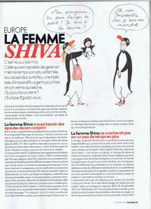Elle.be La femme Shiva page1
